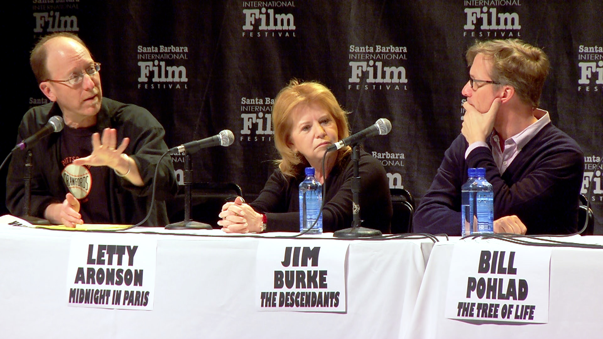 There's no movie until there's money: 2012 SBIFF Producers' Panel: Movers & Shakers