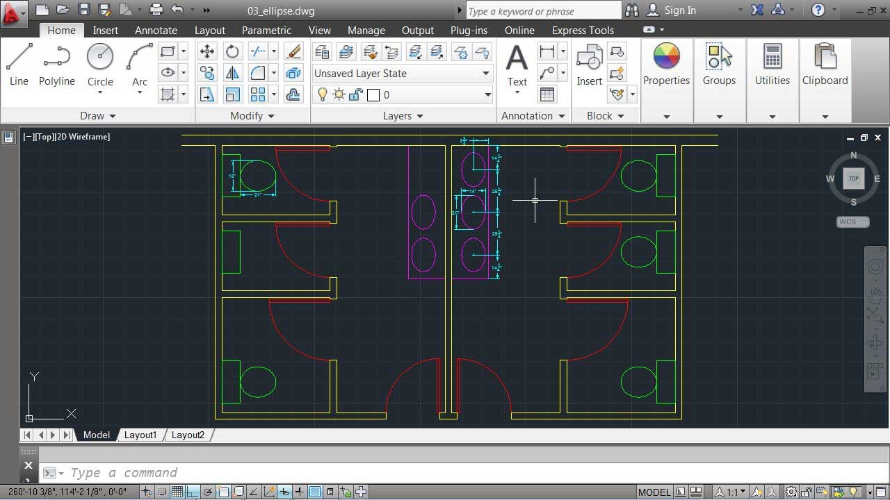 Challenge: creating a small part: AutoCAD 2013 Essentials: 02 Drawing Fundamentals