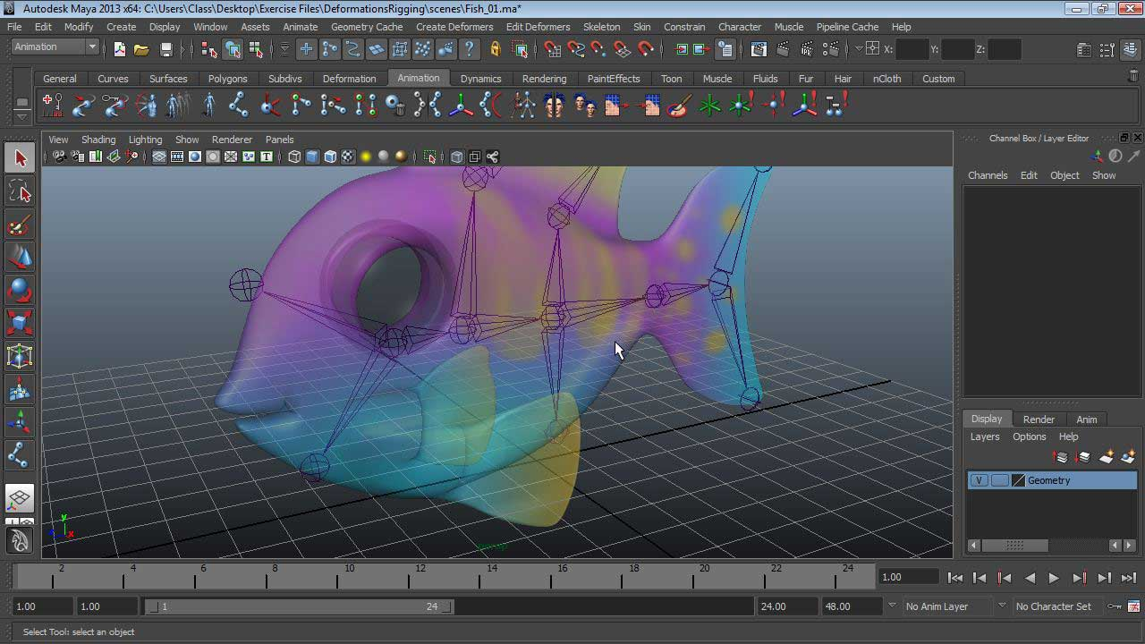 Welcome : Maya Essentials 5: Animation Tools