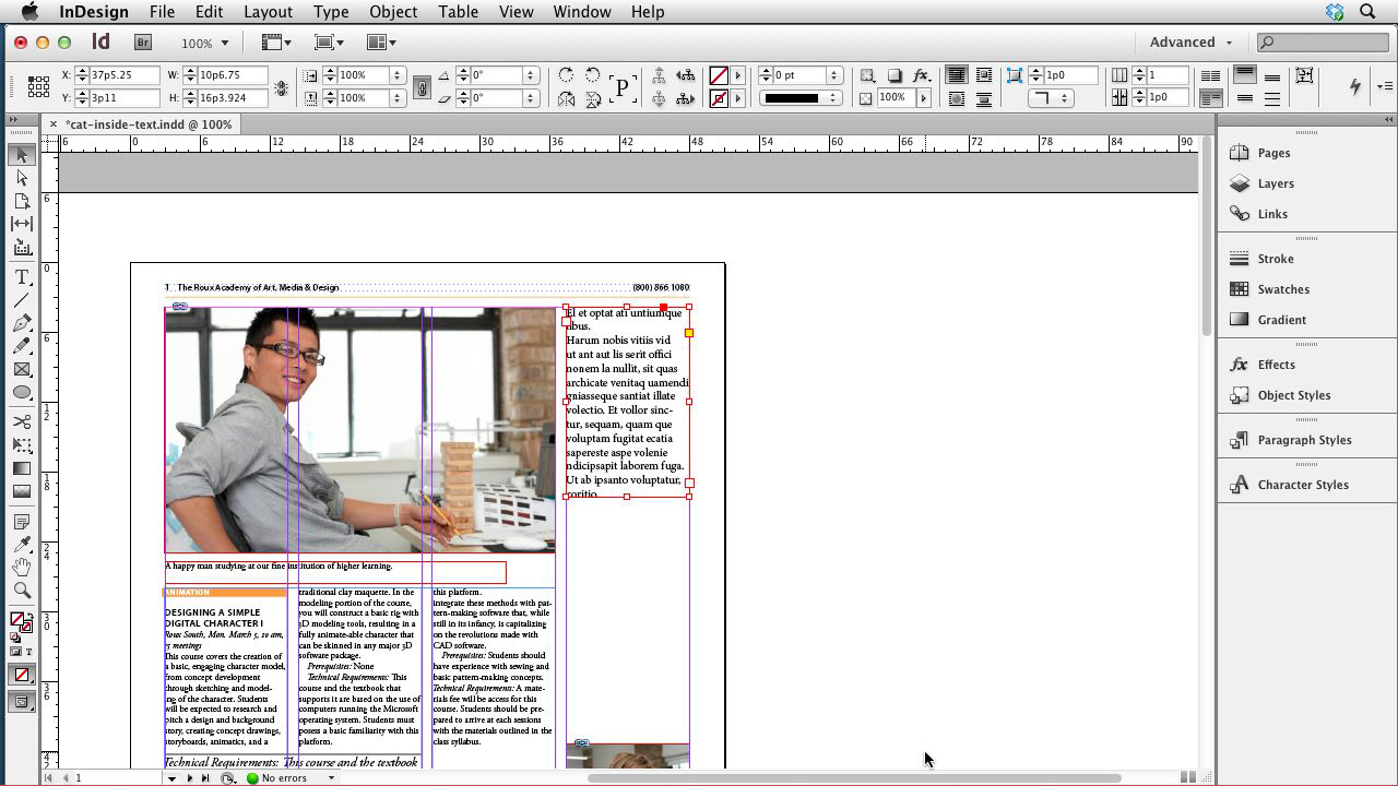 Welcome: InDesign CS6 New Features