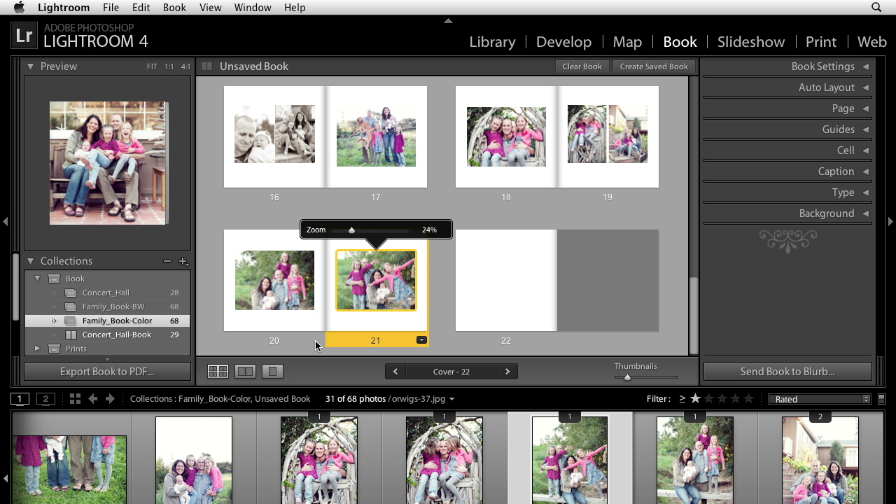 Welcome: Lightroom 4 Essentials: 03 Creating Prints and Books