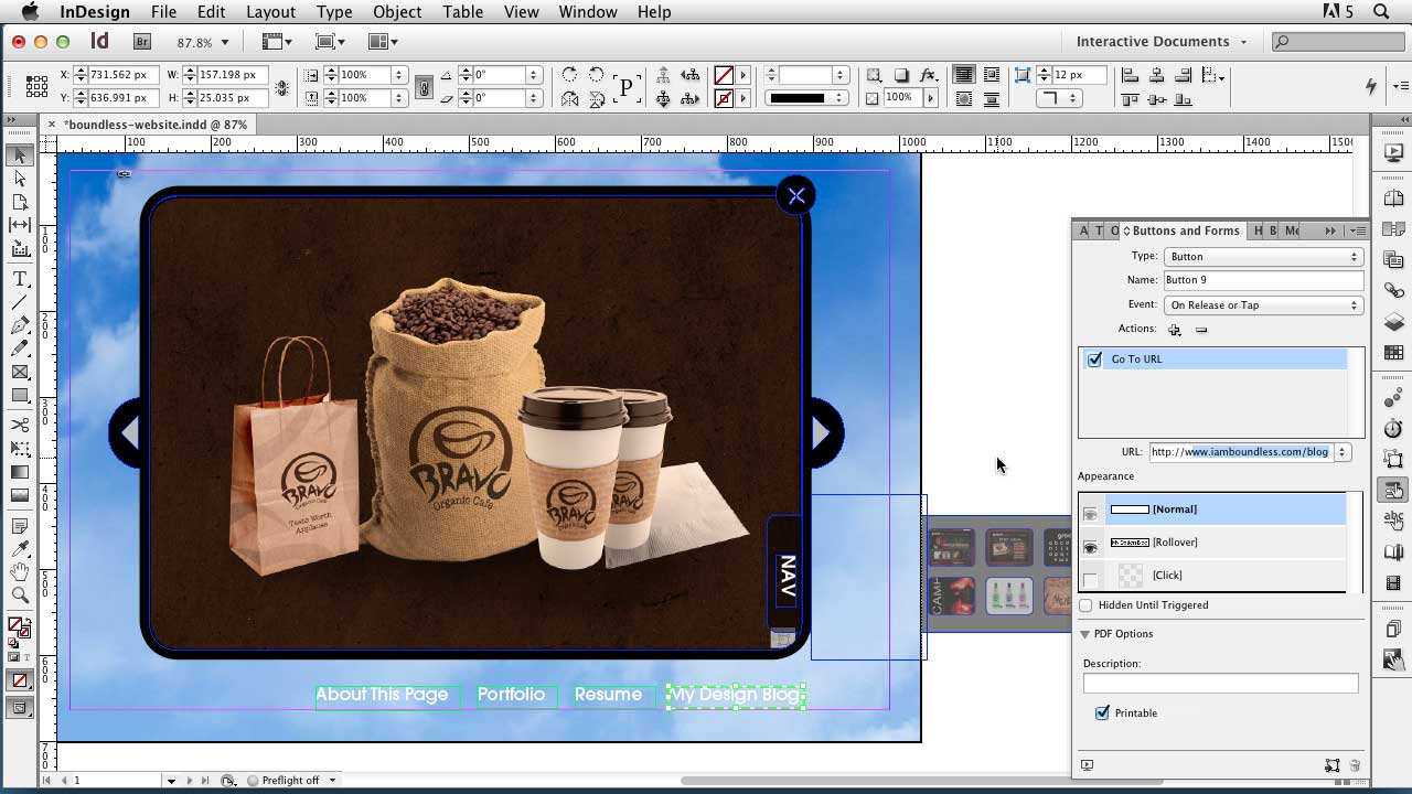Welcome: InDesign CS6: Interactive Documents