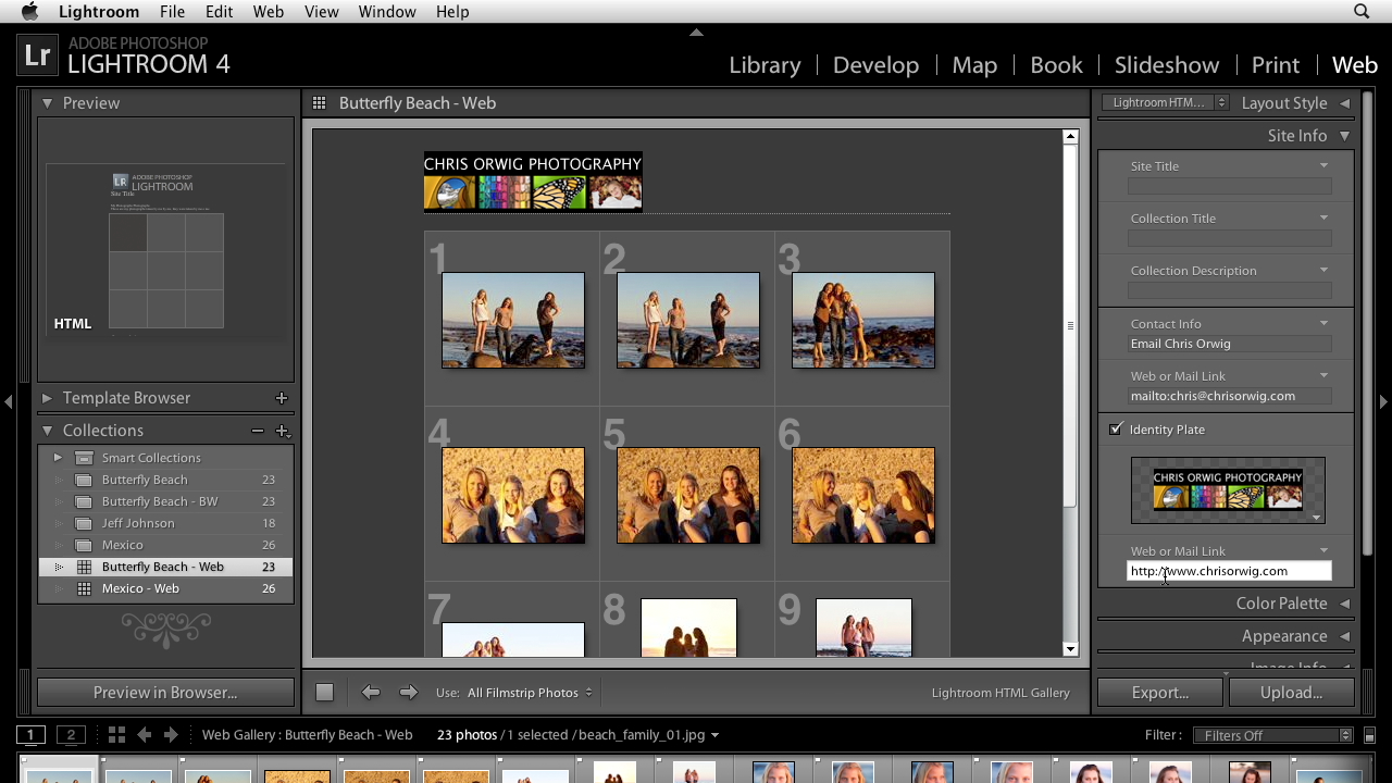 : Lightroom 4 Essentials: 04 Creating Slideshows and Web Galleries