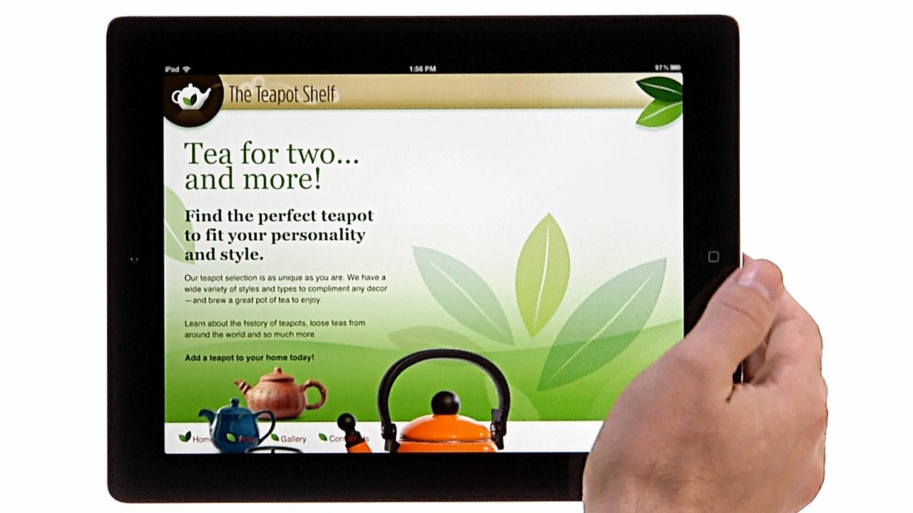Welcome: Create an iPad Web App