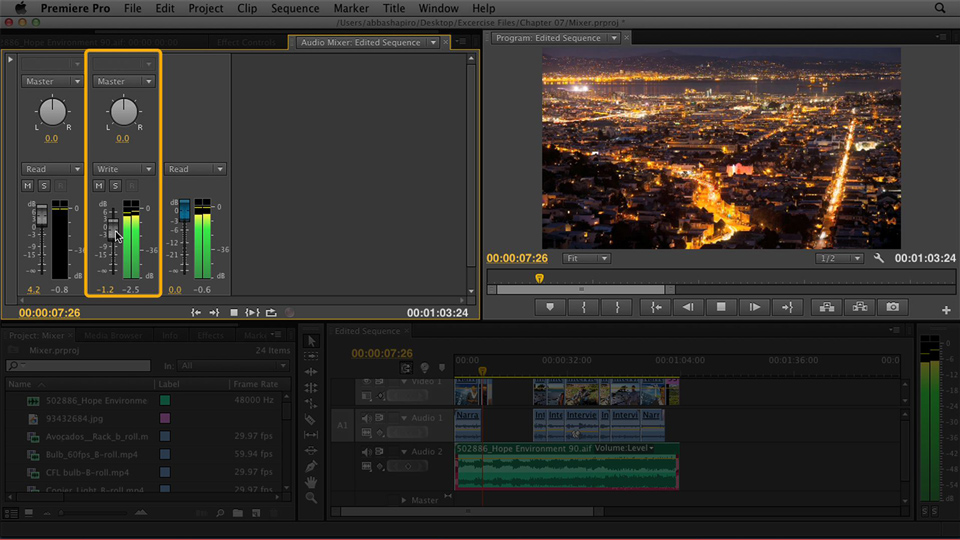 Welcome: Premiere Pro CS6 Essential Training