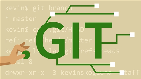 course illustration for Git Essential Training