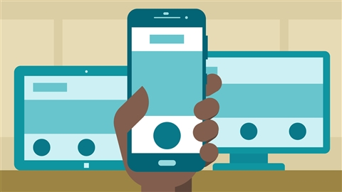 course illustration for Learning Responsive Design
