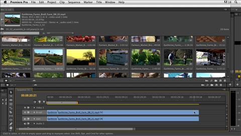 course illustration for Documentary Editing with Premiere Pro