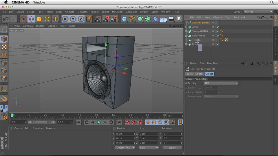 Watch the online video course cinema 4d essentials 2 Easy 3d modeling software