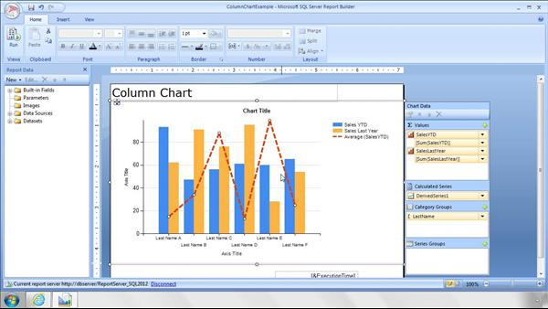 advanced sql server reporting services - Sql Report Writing