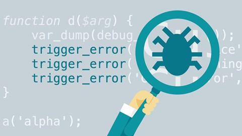 course illustration for Advanced PHP: Debugging Techniques