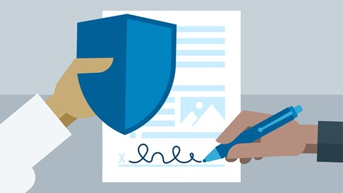 course illustration for Running a Design Business: Designer-Client Agreements