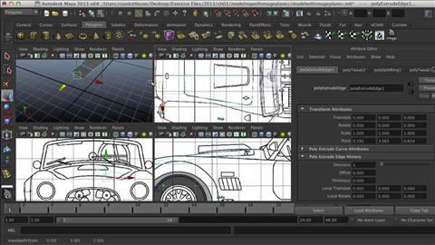 maya car modeling tutorial pdf