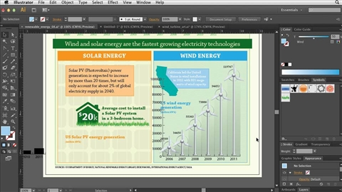 Creating Infographics With Ilrator Cc 2013