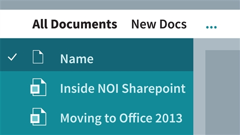 course illustration for SharePoint 2013 Essential Training
