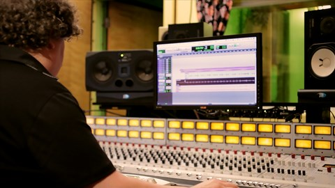 course illustration for Music Production Secrets: Larry Crane on Mixing