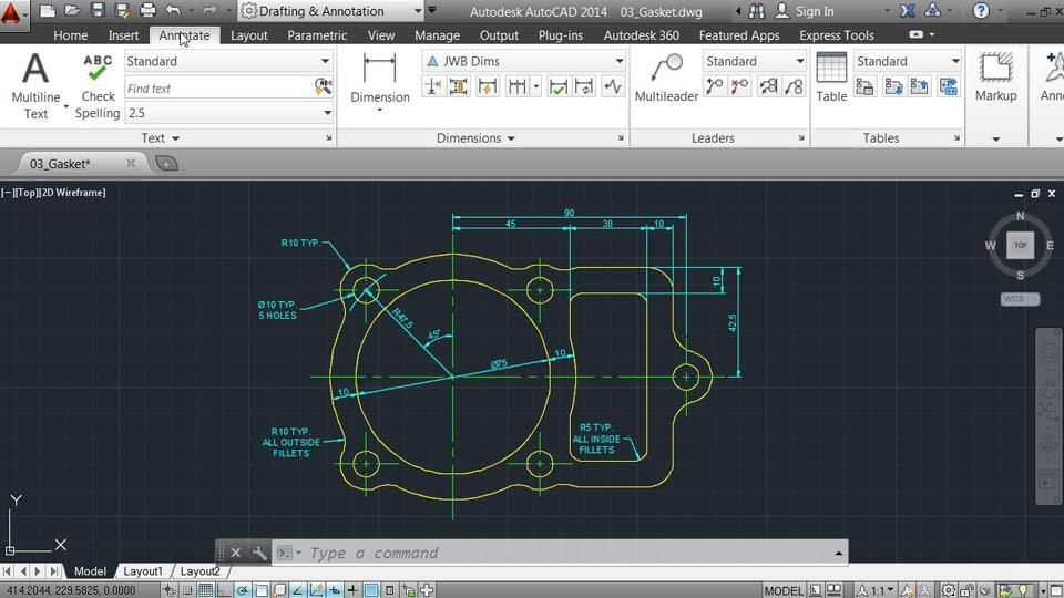 how to put drawing on sheet in autocad