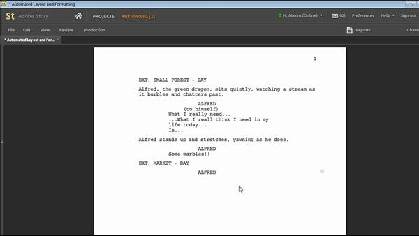 adobe story Adobe® story is an online service that helps you efficiently create scripts or outlines that serve as blueprints for your video projects adobe story .