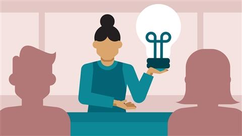 course illustration for Running a Design Business: Presentation Skills