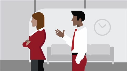 course illustration for Having Difficult Conversations