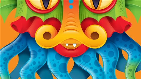 course illustration for Drawing Vector Graphics: Color and Detail