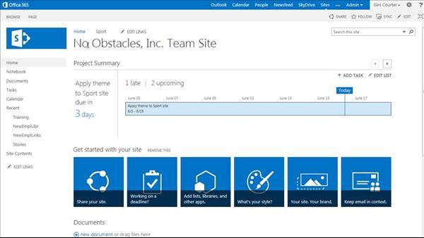 SharePoint Online Essential Training
