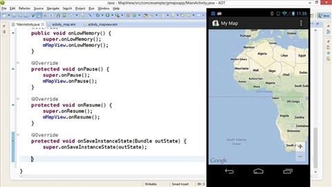Importing the sample app into Android Studio