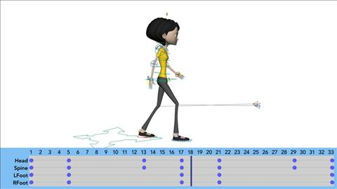 course illustration for Learning Character Animation