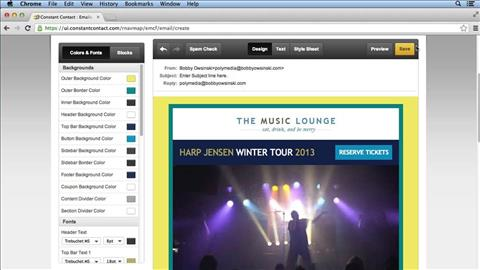 course illustration for Mailing List Management for Musicians and Bands
