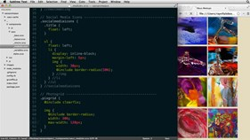 Thumbnail for Responsive CSS with Sass and Compass