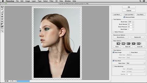 course illustration for Photoshop Retouching: Faces
