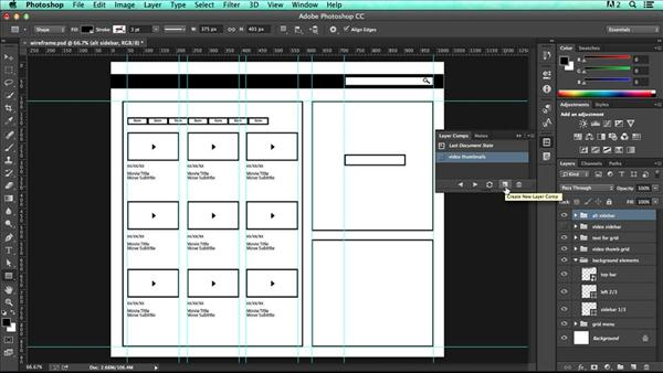Photoshop for UX Design