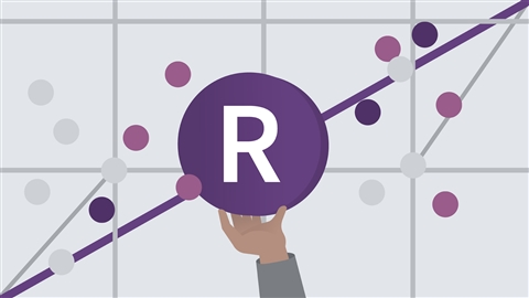course illustration for R Statistics Essential Training