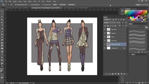 Photoshop For Fashion Design Rendering Techniques