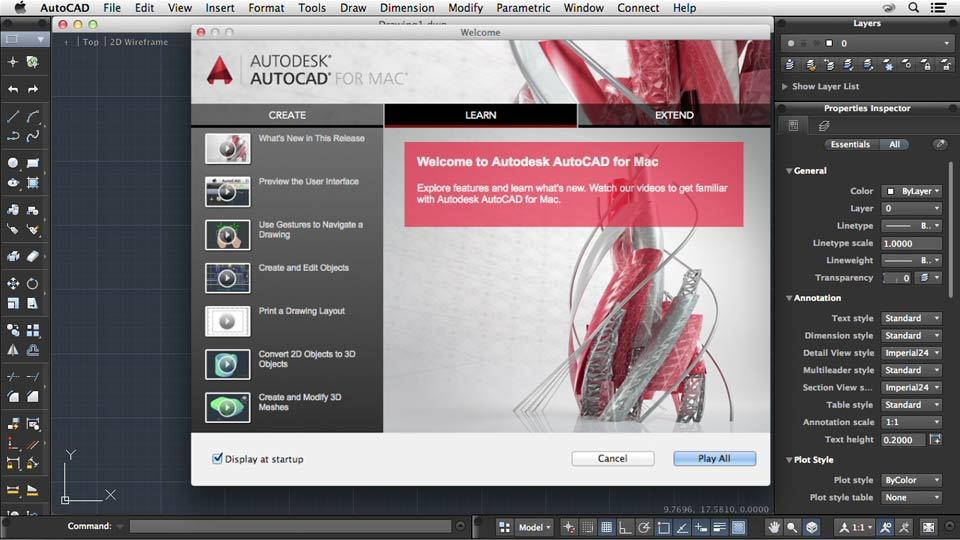 how to install autocad 2014 on mac