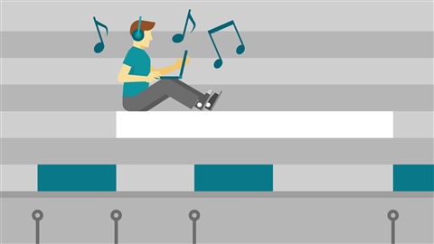 course illustration for Ableton Live 9: Programming Beats