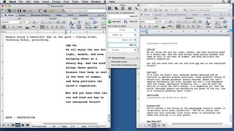 Online writing tutorials