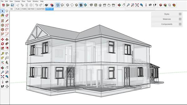 Sketchup for architecture Architecture home learning courses