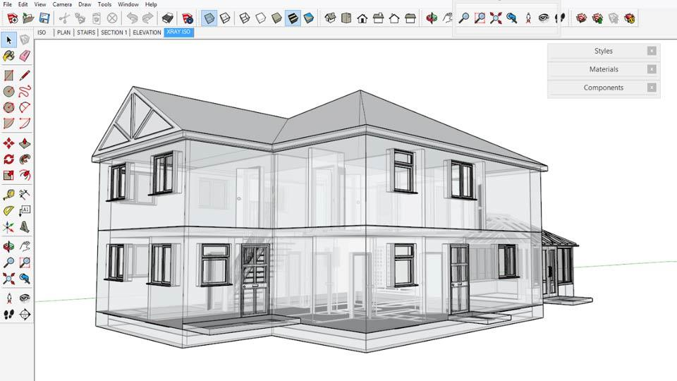 Watch the online video course sketchup for architecture fundamentals Architecture home learning courses