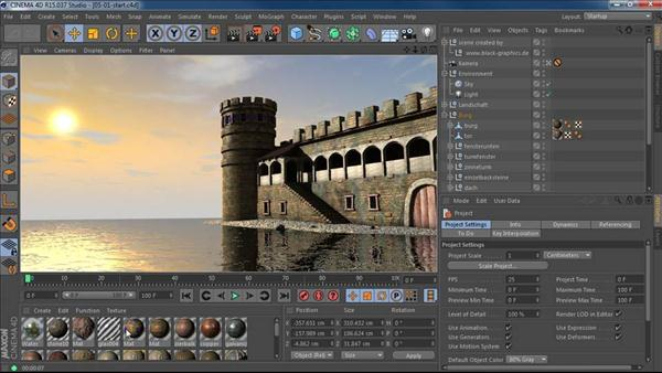 Cinema 4D R15 New Features