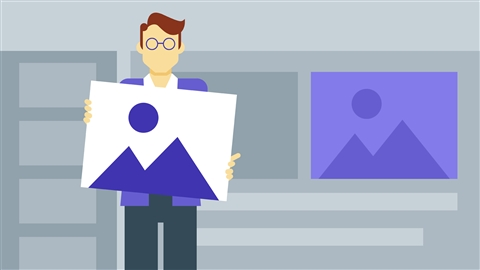 course illustration for PowerPoint: Using Photos and Video Effectively for Great Presentations