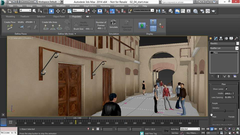 Watch The Online Video Course 3ds Max 2014 New Features