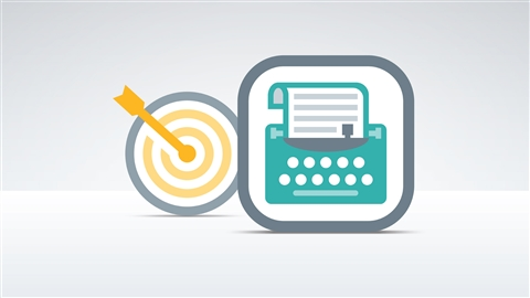 course illustration for Writing Marketing Copy