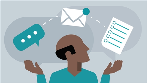 course illustration for Project Management Foundations: Communication