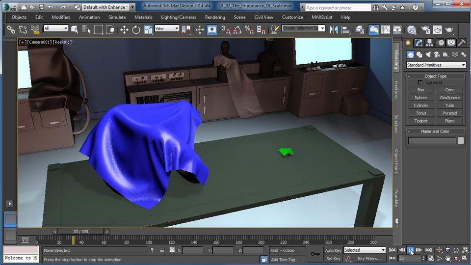 Watch The Online Video Course Cloth Simulation In 3ds Max