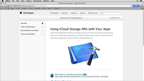 course illustration for Up and Running with Cloud Service APIs
