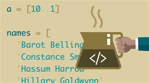course illustration for Learning CoffeeScript