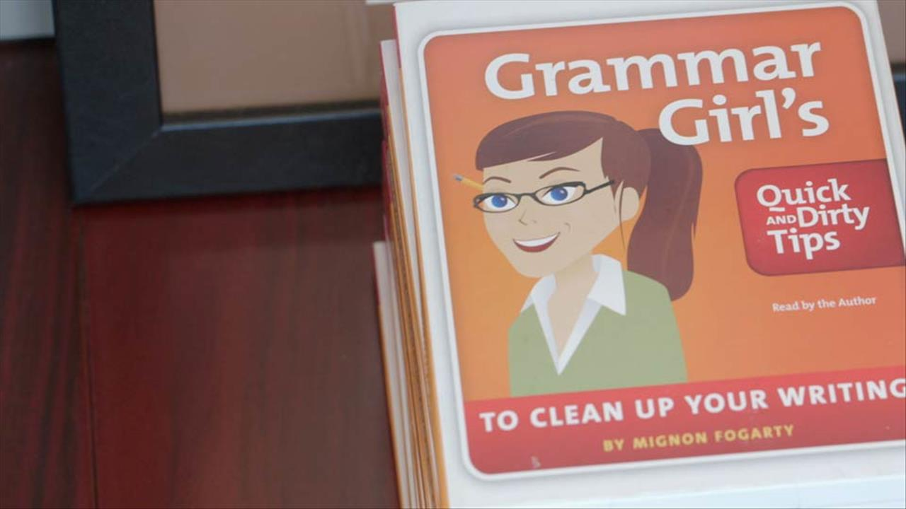 Creative Spark: Grammar Girl, Changing Writing One Word at a Time