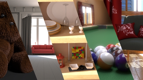 course illustration for V-Ray 3.0 for 3ds Max Essential Training