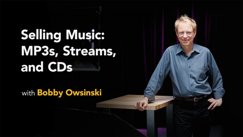 course illustration for Selling Music: MP3s Streams and CDs